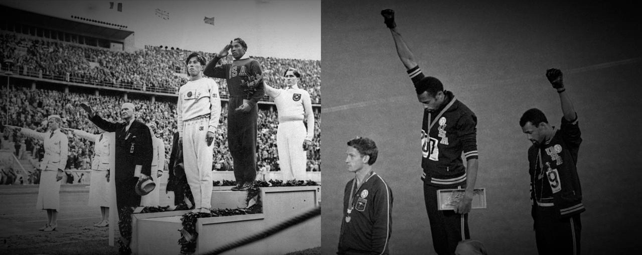 A Hipocrisia da Classe Média Branca - Jesse Owens, Tommie Smith, John Carlos e Peter Norman