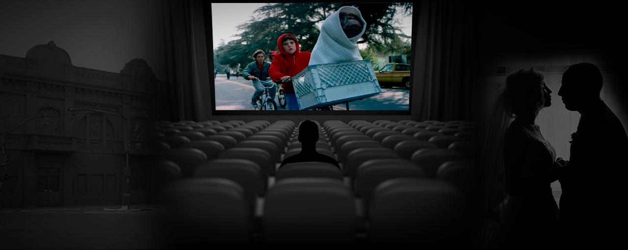 Fugi do casamento e fui ao cinema*
