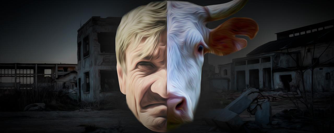 O que nos diferencia do gado?